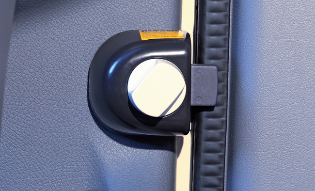 Security lock for cabin doors:  Mercedes Sprinter ... - 2006