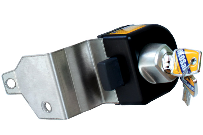 Security lock for cabin doors:  Mercedes Sprinter  ... - 2006.